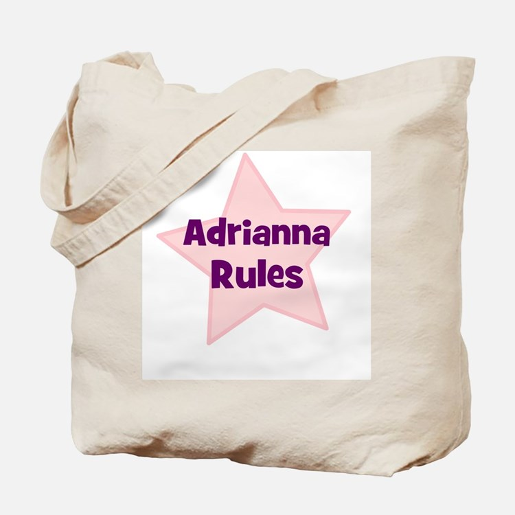 Adrianna Rules Tote Bag