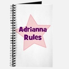 Adrianna Rules Journal