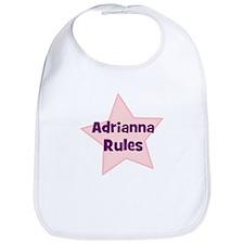 Adrianna Rules Bib