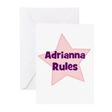 Adrianna Rules Greeting Cards (Pk of 10)