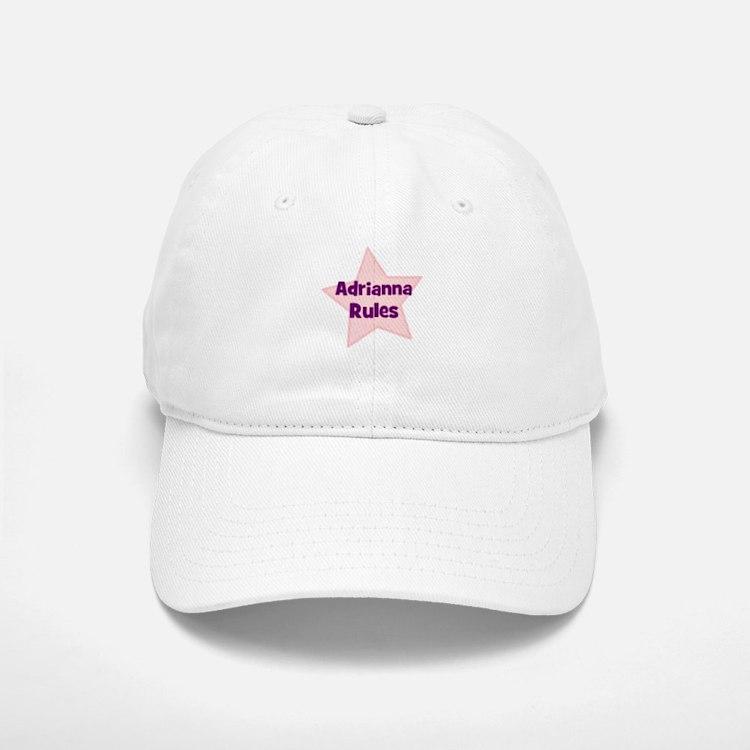 Adrianna Rules Baseball Baseball Cap
