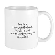 Alfalfa love note Mug