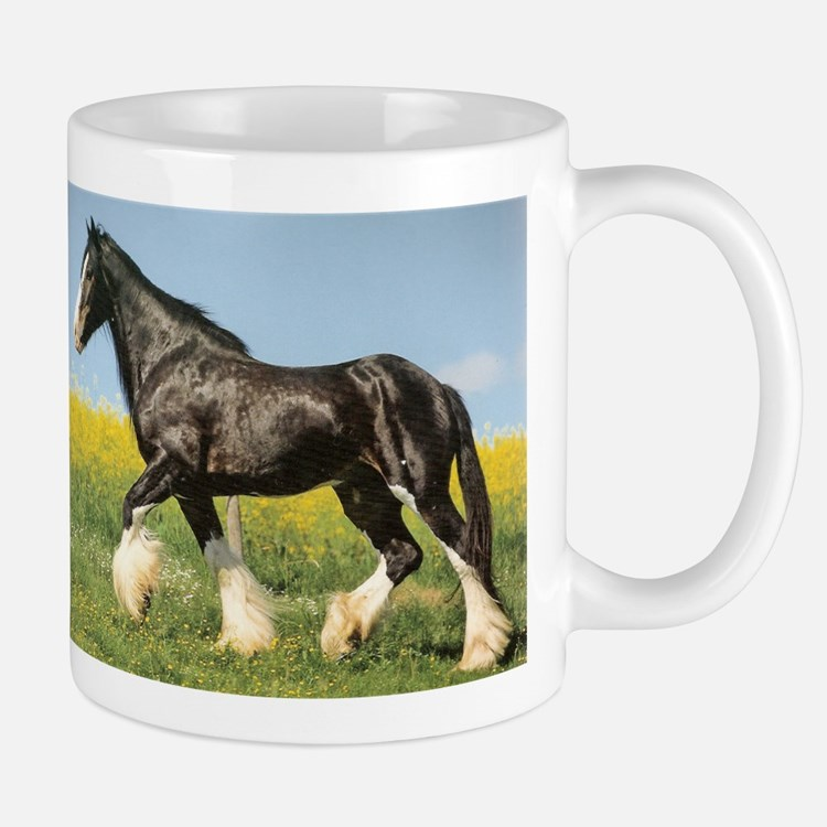 Shire Horse Draft Horse Lover Coffee Mug
