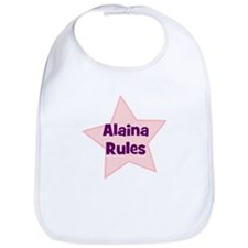 Alaina Rules Bib