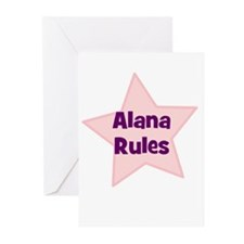 Alana Rules Greeting Cards (Pk of 10)