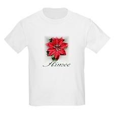 Poinsettia Aimee T-Shirt