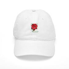 Poinsettia Aimee Baseball Cap