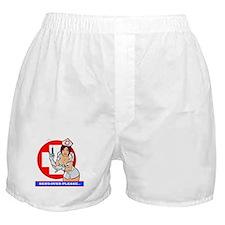 NURSE GIRL Boxer Shorts