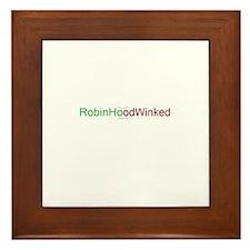 RobinHoodWinked Framed Tile