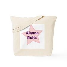 Alanna Rules Tote Bag