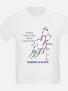 Barrel Racing Kids T-Shirt