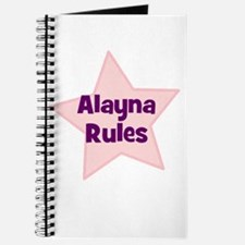 Alayna Rules Journal