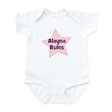 Alayna Rules Infant Bodysuit