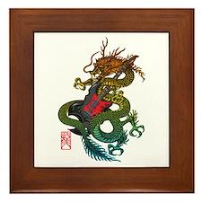 Dragon original 03 Framed Tile
