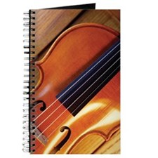 Close-up of violin Journal