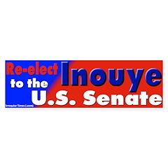 Hawaii's Daniel Inouye Bumper Bumper Sticker