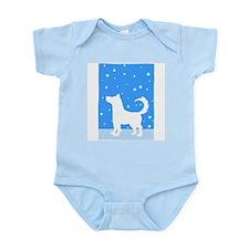 American Eskimo Dog Infant Bodysuit