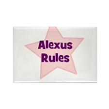 Alexus Rules Rectangle Magnet (10 pack)