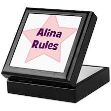 Alina Rules Keepsake Box