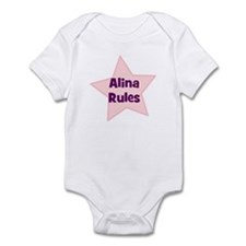 Alina Rules Infant Bodysuit