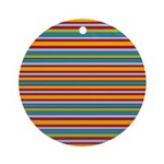 Lotsa Stripes Ornament (Round)