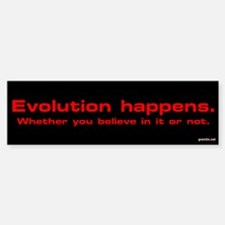 Evolution Happens Thumpersticker