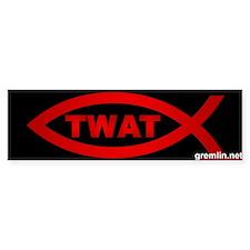 TwatFish Thumpersticker