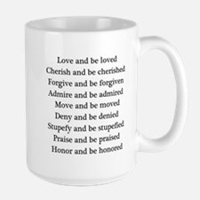 Love and be loved Mug