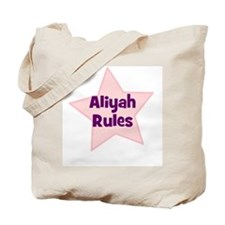 Aliyah Rules Tote Bag