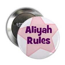 "Aliyah Rules 2.25"" Button (10 pack)"