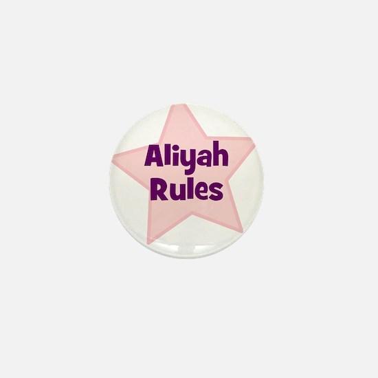 Aliyah Rules Mini Button
