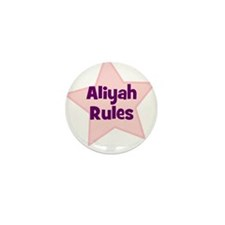 Aliyah Rules Mini Button (10 pack)