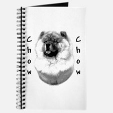 Chow Chow Charcoal Journal