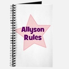 Allyson Rules Journal