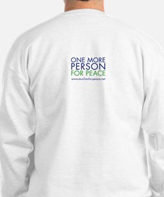 Happy Person for Peace Sweatshirt