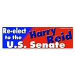 Nevada Senator Harry Reid Bumper Sticker