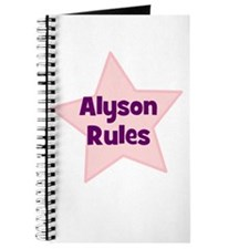 Alyson Rules Journal
