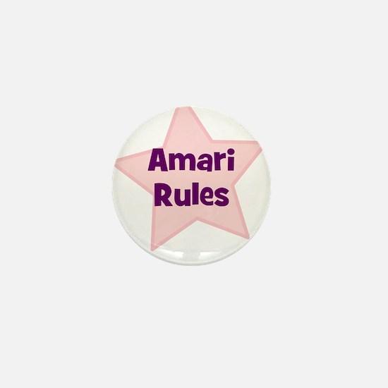 Amari Rules Mini Button