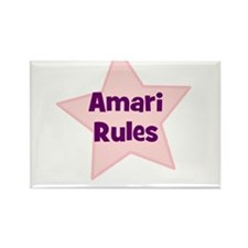 Amari Rules Rectangle Magnet