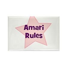 Amari Rules Rectangle Magnet (10 pack)