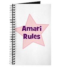 Amari Rules Journal