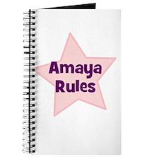 Amaya Rules Journal