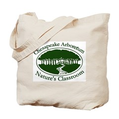 Chesapeake Arboretum Logo Tote Bag