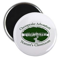 """Chesapeake Arboretum Logo 2.25"""" Magnet (10 pack)"""