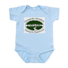 Chesapeake Arboretum Logo Infant Bodysuit