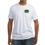 Chesapeake Arboretum Logo Fitted T-Shirt
