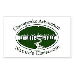 Chesapeake Arboretum Logo Rectangle Decal