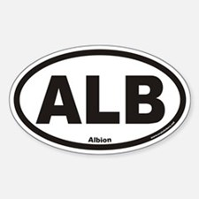 Albion ALB Euro Oval Decal