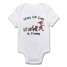 Crazy Cat Lady In Training Infant Bodysuit