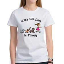 Crazy Cat Lady In Training Tee
